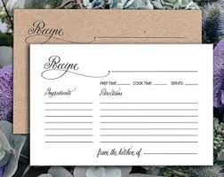 printable recipe cards recipe card template recipe cards