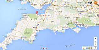Somerset England Map Dunster Castle In Somerset U2013 Uk U2013 Agnesgrzeskow