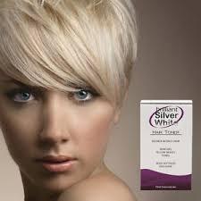 silver blonde color hair toner brilliant silver white magic hair toner for platinum blonde grey