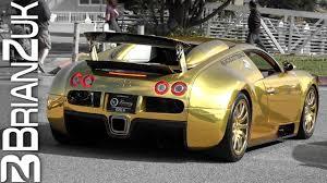 bugatti gold and gold bugatti veyron youtube