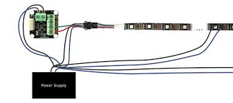 connecting led light strips doc tinkerforge