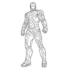 coloring pages iron man 2 periodic tables