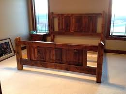 king size bed frame and headboard king size bed frame without