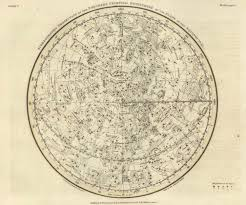 star map northern celestial hemisphere map print antique