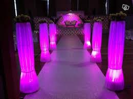 decoration salle de mariage décoration entrée de salle mariage
