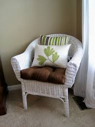 Painting Wicker Patio Furniture - furniture appealing wicker chair cushions for cozy patio