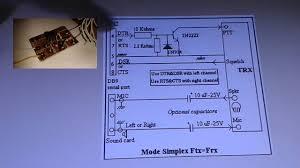 Radio Repeater Circuit Diagram Simplex Repeater Pc Software Demonstration And Schematic