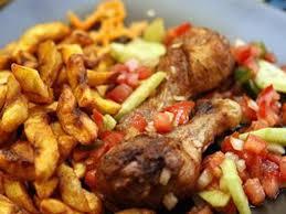 recette de cuisine africaine poulet braisé et bananes plantains recette banane plantain