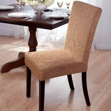 Dining Room Chair Skirts Velvet Damask Stretch Dining Chair Slipcovers Free Shipping On