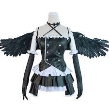 Fallen Angel Halloween Costume Aliexpress Buy Lovelive Sunshine Fallen Angel Yoshiko