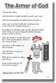 amazon com the armor of god new religion poster office products