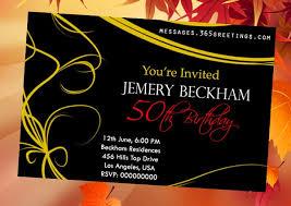 10 best 50th birthday invitations 2017 invitation templates