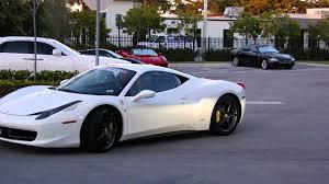 Ferrari 458 Italia - white ferrari 458 italia 2 youtube