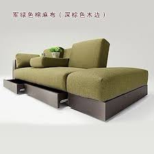 Japanese Style Apartment by Ou Lala Home Japanese Style Fabric Sofa Multifunctional Storage