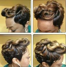 short hair styles with front flips short cut grown out from pixie w few large flip curls in front