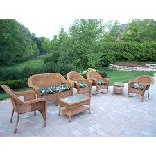 patio ideas providence 8 person resin wicker patio dining set