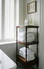 Towel Storage For Bathroom by 120 Best Smart Bathroom Storage Images On Pinterest Home Room