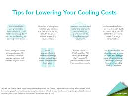 energy saving tips for summer energy saver 101 home cooling infographic department of energy