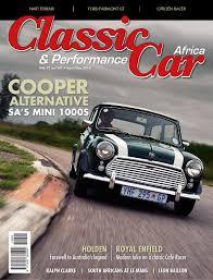 Classic U0026 Performance Car Africa June July 2015 By Classic