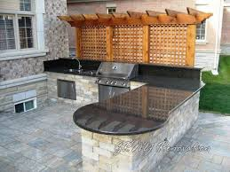 outdoor kitchen countertops ideas best 25 outdoor countertop ideas on concrete
