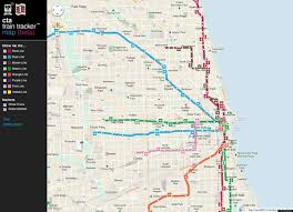 Maps Of Chicago by Chicago L Train Map Chicago L Train Map Chicago L Train Map