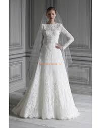 robe de mari e de princesse de luxe robe de mariée luxe empire princesse avec manche en dentelle