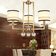 Chandeliers For Home Rustic Small Chandeliers Rustic 3 Light Drum Shaped Fabric Shade