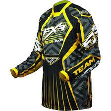 fxr motocross gear men u0027s fxr cold cross snow jersey 219409 snowmobile clothing at