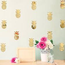 spiegel für kinderzimmer 96 stücke obst ananas muster spiegel aufkleber kinderzimmer baby