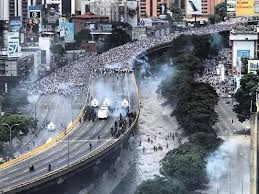 venezuela on the march reaction caracas chronicles