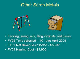 scrap metal filing cabinet reduce reuse recycle waste and resource recovery ongoing recycling