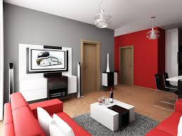The Red Sofa Living Room Modern Living Room Decor With Interior Chandelier