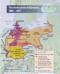 Bavaria Germany Map by The Unification Of Germany 1865 1871
