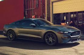 ford mustang gt uk 2018 ford mustang facelift brochure leak shows specs autocar