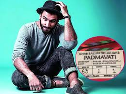 Shoo Hai O here s what ranveer singh was up to on the day of padmavati s