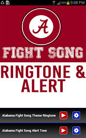amazon com alabama university fight song theme ringtone appstore