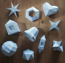 make your own 10 ornaments from paper bonus 5 crystals