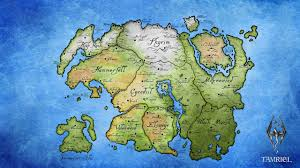 Map Wallpaper Tamriel Map Wallpaper 2560x1440 Id 48871 Wallpapervortex Com