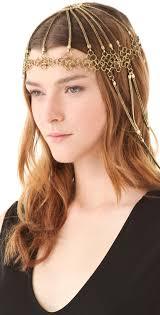 chain headpiece bohemian wedding chain bridal headpiece 1331960 weddbook