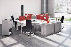 Schreibtisch F 2 Personen Expert Schreibtisch Mit C Fuß Gestell Und Fußraumblende