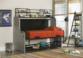 Loft Bed With Futon And Desk Bunk Bed With Futon And Desk Stairs Bunk Bed