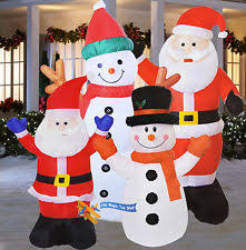 Outdoor Father Christmas Decorations Uk by Outdoor U0026 Garden Christmas Decorations Ebay