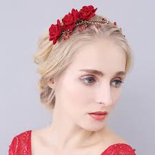 floral hair accessories handmade flower wedding bridal headband floral hair