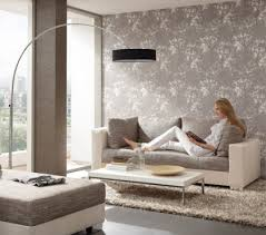 wallpapers in home interiors 13 creative ideas for living room wall decorating with floral motifs