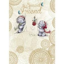 buy special friend me to you bear christmas card in cheap price on