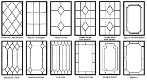 windows designs decorative leaded glazing designs home