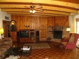 woods vintage home interiors vintage old original 1955 wood paneling family room stone