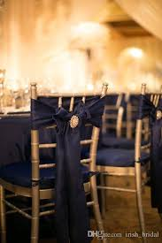 navy blue chair sashes 2017 2016 navy blue wedding chair sashes vintage