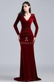 khloé kardashian burgundy velvet long sleeve deep v neck oscars