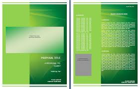 graphic design proposal template formsword word templates